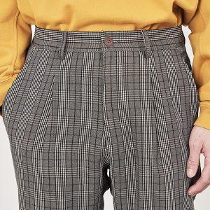 18AW - Pant (1616 格紋打摺長褲)
