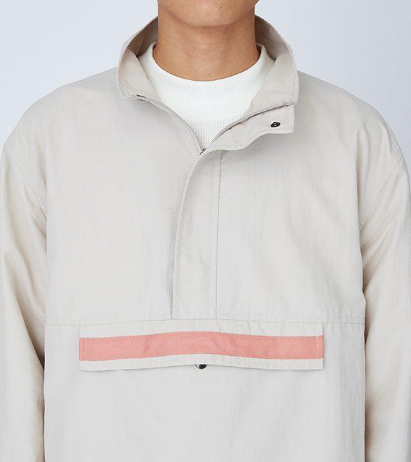19SS - 尼龍防撥水套頭外套