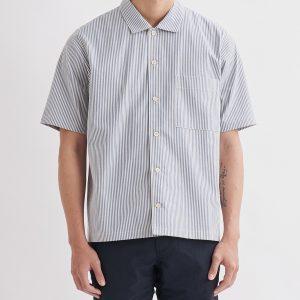 19SS - 棉麻泡泡紗短袖襯衫