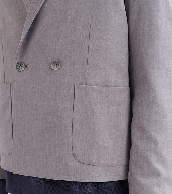 19SS - 彈性短版西裝外套