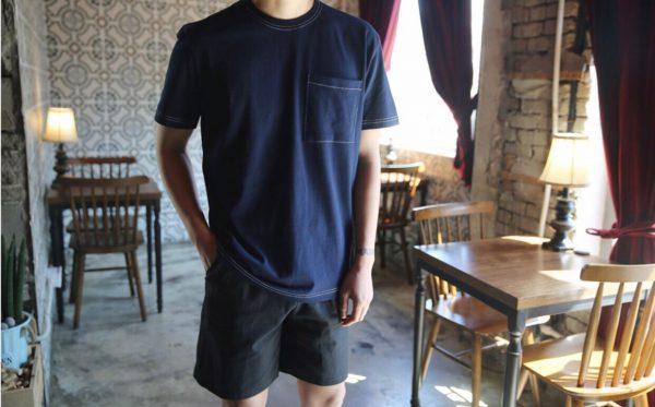 19SS - 車縫白線上衣 (需預訂)
