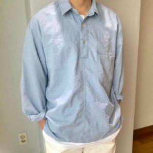 19SS - 口袋工作襯衫