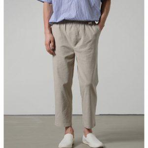 19SS - 釦環休閒長褲