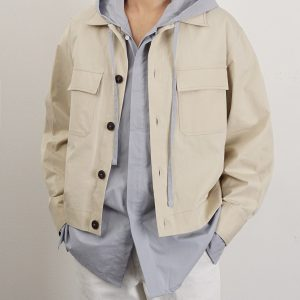 19SS ─ 短版口袋薄外套