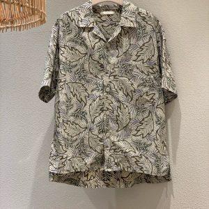 19SS - 樹葉滿版襯衫