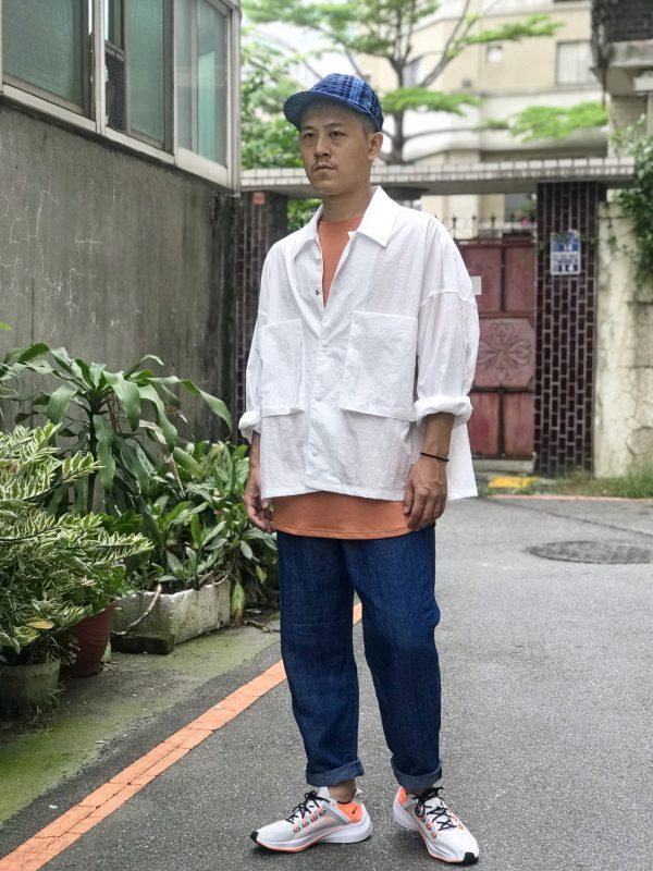19SS ─ 短版尼龍口袋外套