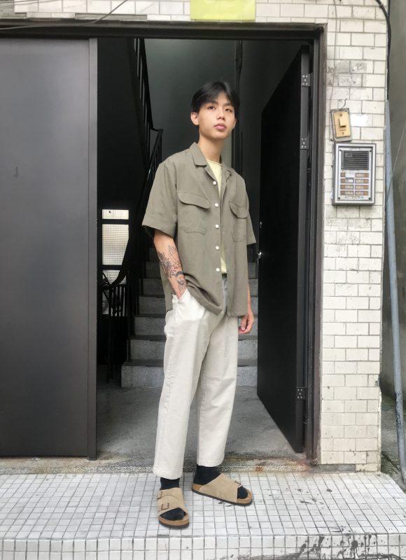 19SS ─ 亞麻古巴領襯衫
