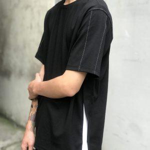 19SS - 織帶拼接上衣