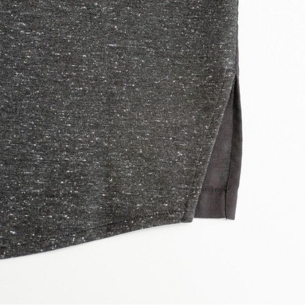 19SS - 黑色拼接T恤襯衫