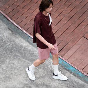 19SS - (吸汗速乾)半開襟短袖上衣