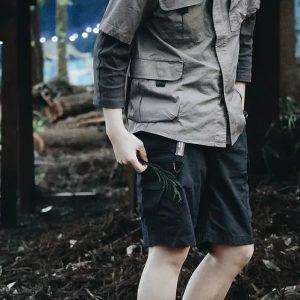 19SS - 戶外工裝短褲 (深灰)