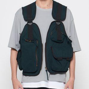 19SS - 多口袋背心外套