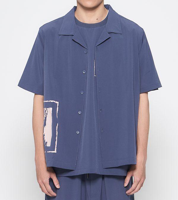 19SS - 吸濕快乾印刷開領襯衫
