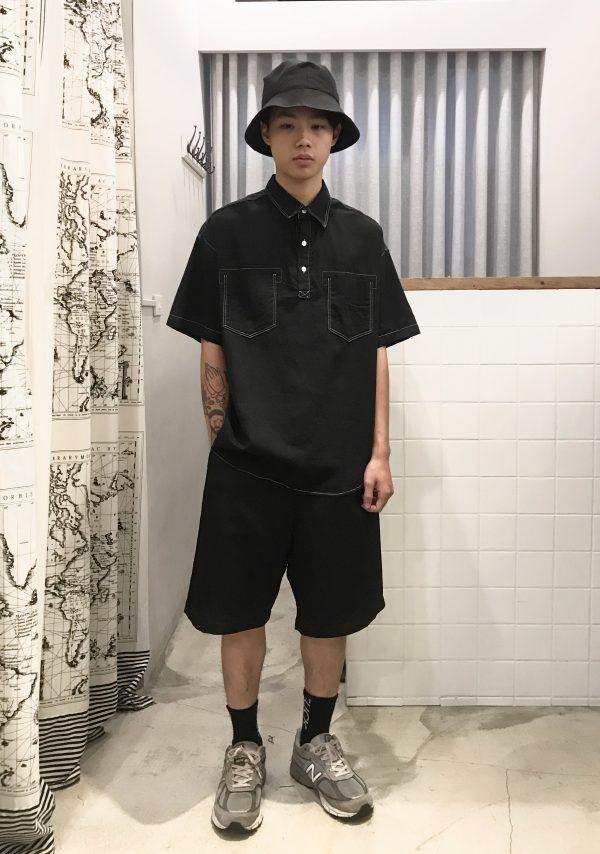 19SS - 車線黑襯衫