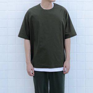 19SS ─ 拉鍊五分袖上衣