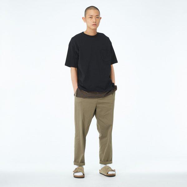 19SS - 棉質抽繩長褲