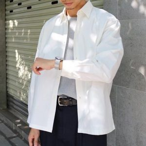 19AW - 天絲棉寬版襯衫