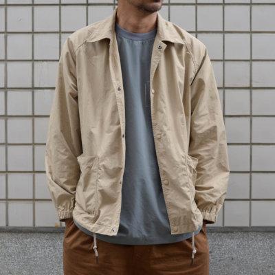 19AW - 好著棉質混紡教練外套