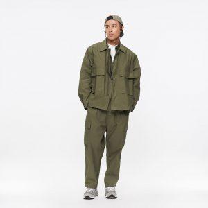 19AW - 棉質混紡軍風外套