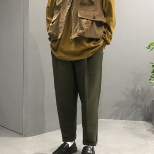 19AW - 綁帶錐型褲