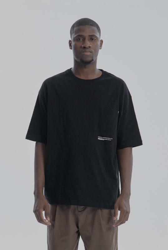DYCTEAM - 寬鬆五分袖口袋短TEE Fifth Pocket