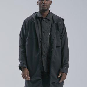 19AW -  DYCTEAM - SISYPHUS / Long multi-function waterproof jacket