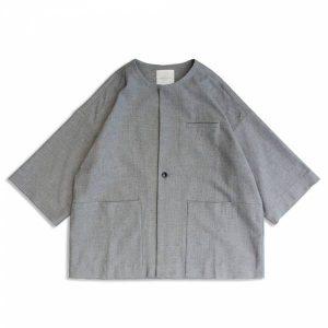 MACHISMO-和風無領罩衫