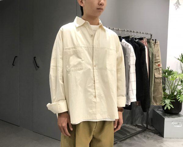 19AW - 短版口袋襯衫