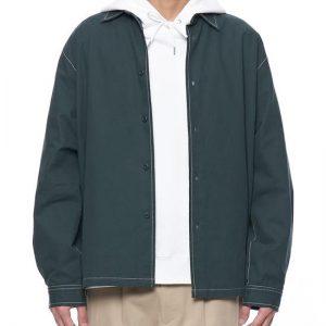 19AW - 水洗棉質寬版襯衫