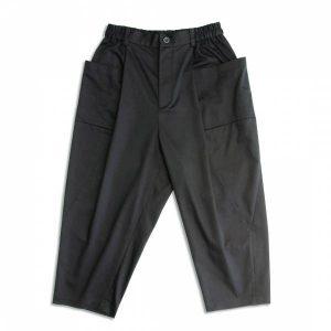 MACHISMO-大口袋繭型圓筒褲