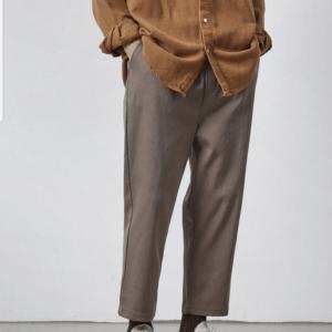 19AW - 釦環錐型褲