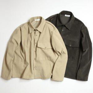 19AW - 寬版燈芯絨襯衫外套
