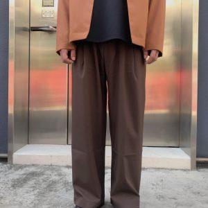 20SS - 西裝料落地寬褲