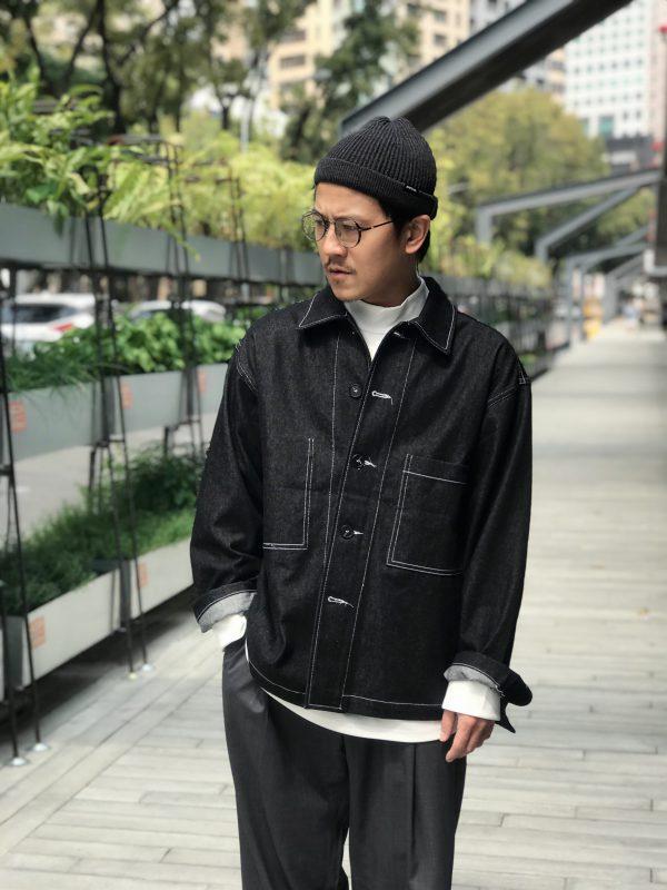20SS - 反車線牛仔襯衫外套