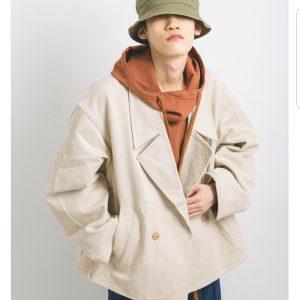 20SS - 雙排釦短大衣