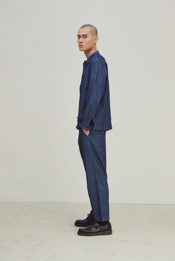 20SS- DYCTEAM - Herringbone jacquard jacket