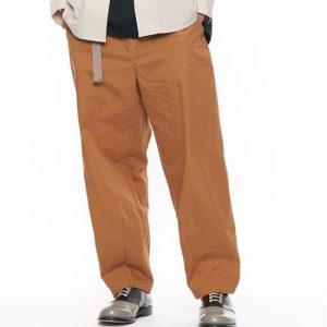 20SS - 棉質混紡繭型長褲