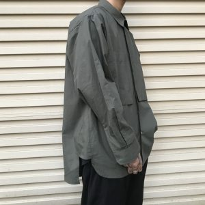 20SS - 雙口袋長版襯衫