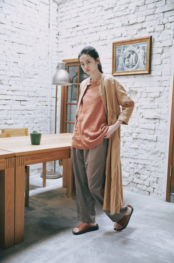 20SS - 棉麻寬版TEE