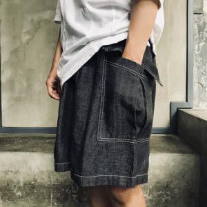 20SS - 大口袋牛仔短褲