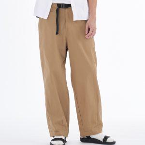 20SS - 斜紋棉質繭形寬褲